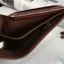 กระเป๋าสตางค์ผู้ชาย หนังแท้ ทรงสั้น Shidai Piroyce - สีน้ำตาล thumbnail 13