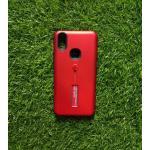 2ชั้นกันกระแทกมีที่คล้องนิ้ว VIVO V9 สีแดง