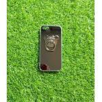 TPU โครเมี่ยมพร้อมแหวน(NEW) iphone5/5s/se สีดำ