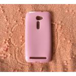 TPU สีทึบ Zenfone2 (5.0) สีชมพู
