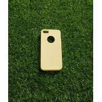 TPU สีทึบ 0.18 บางเฉียบ iphone5/5s สีเหลือง