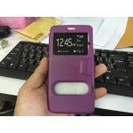 เคสเปิด-ปิด Smart case Zenfone2 5.0 สีม่วง