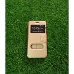 เคสเปิด-ปิด Smart case Huawei Y 7 สีทอง