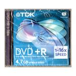 TDK DVD+R 16X (1 pcs/Jewel Case)