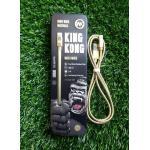 สายชาร์จ Remax Kingkong(ของแท้) iphone5-6/ipadmini/air1/air2 สีทอง