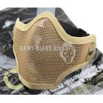 CM01 Metal Mesh Half Face Mask (Tan)prev next