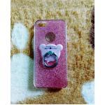 TPU กากเพชร (มีเเหวนตั้งได้) iphone6/6s สีชมพู