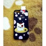 TPU สัตว์เกาะหลัง iphone7 plus/iphone8 plus(ใช้เคสตัวเดียวกัน)ลายแมวน้อยจุด