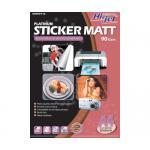 Hi-Jet STICKER MATT 90 Gsm. (A4/10 Sheets)