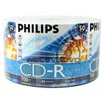 Philips CD-R 52X (50 pcs/Plastic Wrap)