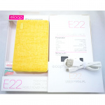 Powerbank eloop e22 สีเหลือง