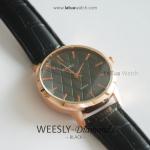 นาฬิกาข้อมือ รุ่น WEESLY-Diamonds ดำล้วน