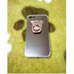 TPU โครเมี่ยมพร้อมแหวน iphone7/iphone8(ใช้เคสตัวเดียวกัน) สีชมพู