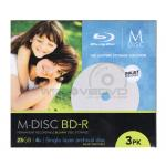 M DISC BD-R 25GB Printable (3 pcs/Slim Case)