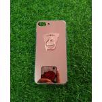 TPU โครเมี่ยมพร้อมแหวน(NEW) iphone7/iphone8(ใช้เคสตัวเดียวกัน) สีชมพู