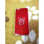 TPU กากเพชร (มีเเหวนตั้งได้) VIVO V5(Y67)/V5S/V5 Lite(ใช้เคสตัวเดียวกัน)สีแดง