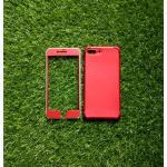 TPU ประกบหน้าหลังกันกระแทก iphone7 plus /iphone8 plus(ใช้เคสตัวเดียวกัน)สีแดง