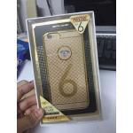 NiDE เคสประกบขอบเพชร iphone6/6s สีทอง