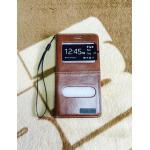 เคสเปิด-ปิด Angel Case iphone5/5s/se สีน้ำตาล
