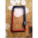 Bumper Walnutt iphone7 plus/iphone8 plus(ใช้เคสตัวเดียวกัน) สีส้ม-ดำ