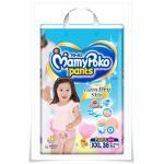 Mamy Poko Pants (Girls) ไซส์ XXL ขนาด 38 ชิ้น ** ไม่รวมค่าจัดส่ง