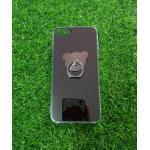 TPU โครเมี่ยมพร้อมแหวน(NEW) iphone7/iphone8(ใช้เคสตัวเดียวกัน) สีดำ