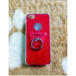 TPU กากเพชร (มีเเหวนตั้งได้) iphone6/6s สีแดง