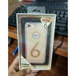 NiDE เคสประกบขอบเพชร iphone6/6s สีเงิน