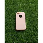 TPU สีทึบ 0.18 บางเฉียบ iphone5/5s สีชมพู