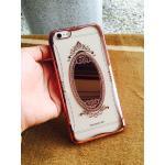 TPU Princess(มีกระจก) iphone6/6s สี Rose Gold