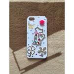 เพชร LOVE iphone5/5s/se ลายแมว