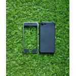 TPU ประกบหน้าหลังกันกระแทก iphone7/iphone8(ใช้เคสตัวเดียวกัน) สีดำ