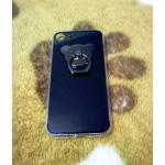 TPU โครเมี่ยมพร้อมแหวน iphone7 /iphone8(ใช้เคสตัวเดียวกัน)สีดำ