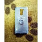 TPU กากเพชร (มีเเหวนตั้งได้) Huawei GR5(2017)(6X) สีเงิน