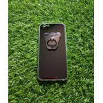 TPU โครเมี่ยมพร้อมแหวน(NEW)iphone6/6s สีดำ