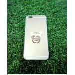 TPU โครเมี่ยมพร้อมแหวน Oppo R9S สีทอง