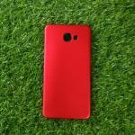 TPU นิ่มสีโครเมี่ยม A9/A9 Pro สี Red