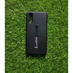 2ชั้นกันกระแทกมีที่คล้องนิ้ว Huawei P20 สีดำ