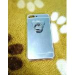 TPU โครเมี่ยมพร้อมแหวน iphone7 plus/iphone8 plus(ใช้เคสตัวเดียวกัน) สีเงิน