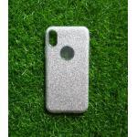TPU กากเพชร 3in1 iphoneX สีเงิน