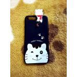 TPU สัตว์เกาะหลัง iphone7 plus/iphone8 plus(ใช้เคสตัวเดียวกัน) ลายแมวน้อย