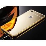 BP.อลูมิเนียมหลังสไลด์ Mirror Huawei P8 สีทอง