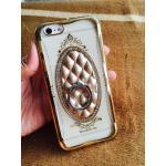 TPU Princess(มีแหวนตั้งได้) iphone6/6s สีทอง