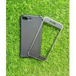 TPU ประกบหน้าหลังกันกระแทก iphone7 plus/iphone8 plus(ใช้เคสตัวเดียวกัน) สีดำ
