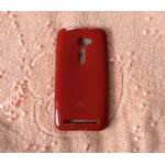 TPU สีทึบ Zenfone2 (5.0) สีแดง