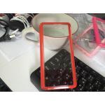 TPU ใสขอบสี Note5 สีแดง