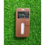 เคสเปิด-ปิด Smart case#2 VIVO Y55/Y55S(ใช้เคสตัวเดียวกัน) สีน้ำตาล