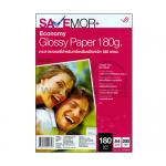 SaveMor Economy Glossy Photo Paper 180Gsm. (A4) (A4/200 Sheets)