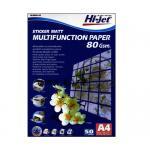 Hi-Jet Sticker Matt Paper Laser Color 80Gsm. A4/50 Sheets ฿250.00