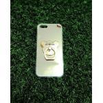 TPU โครเมี่ยมพร้อมแหวน iphone5/5s/se สีทอง